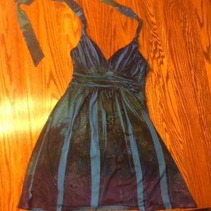 City Triangles Dresses - Halter patterned dress